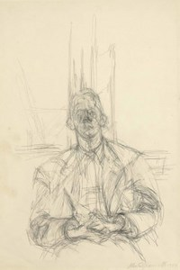 Giacometti and James Lord
