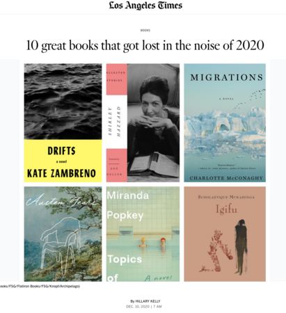 Austen Years one of LA Times039s 10 Great Books That Got Lost in the Noise of 2020