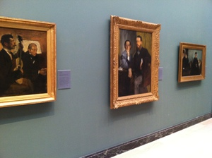 Degas Portrait Trio