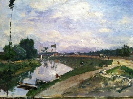 Jongkind A River in Summer