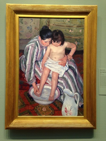 Cassatt The Child039s Bath