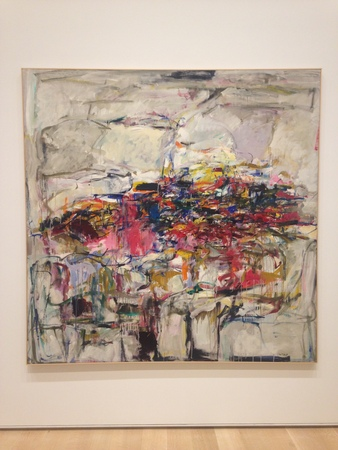 Joan Mitchell City Landscape