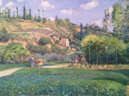 Three Pissarros Over Time