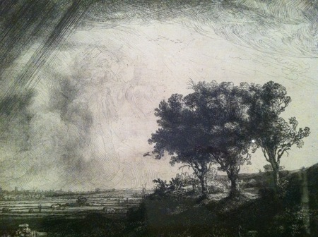 Rembrandt Three Trees