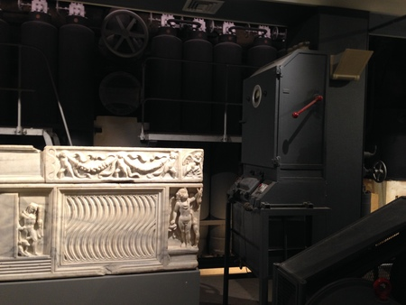 Centrale Montemartini Bodies in Structured Space