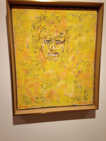 Beauford Delaney and Ella Fitzgerald In Yellow