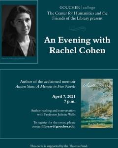 An Evening with Rachel Cohen